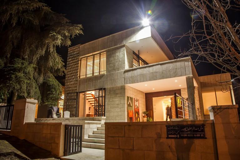 Tiraz-musesum-building-amman-jordan-night