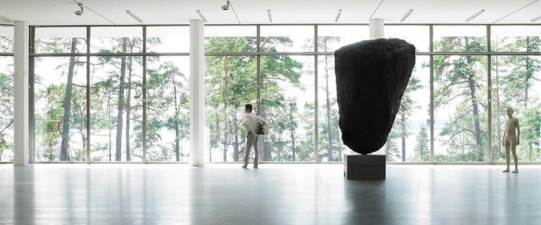 View of the art gallery of Artipelag