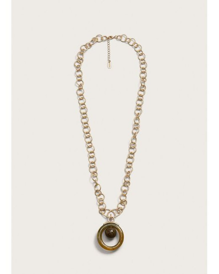 violeta-by-mango-Gold-Link-Circle-Necklace