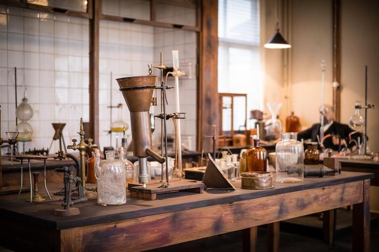 Visit Alfred Nobel's laboratory, Courtesy of Nobelmuseet i Karlskoga