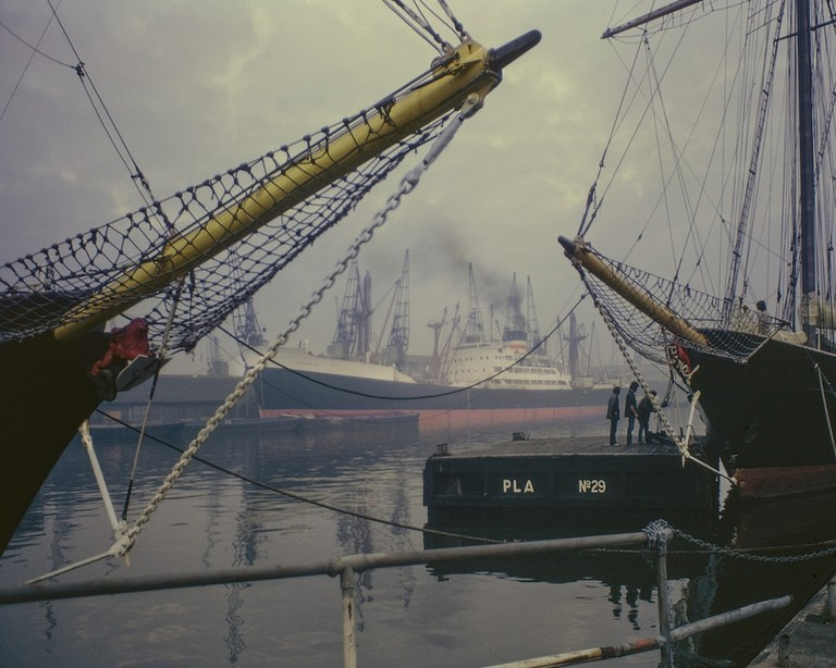 West India Docks, 1971