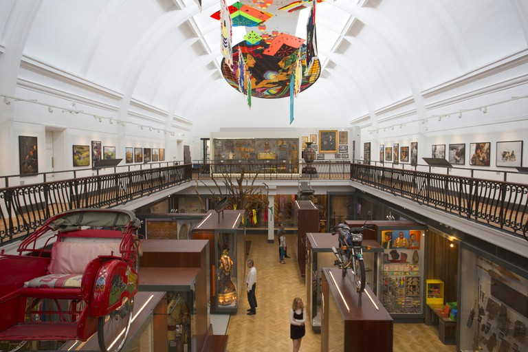 World Gallery at the Horniman Museum and Gardens. Photo by Sarah Duncan (2)