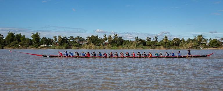 Lao Boat Racing