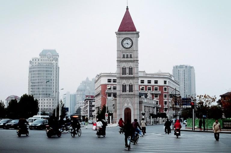 2010天津钟楼深秋初冬