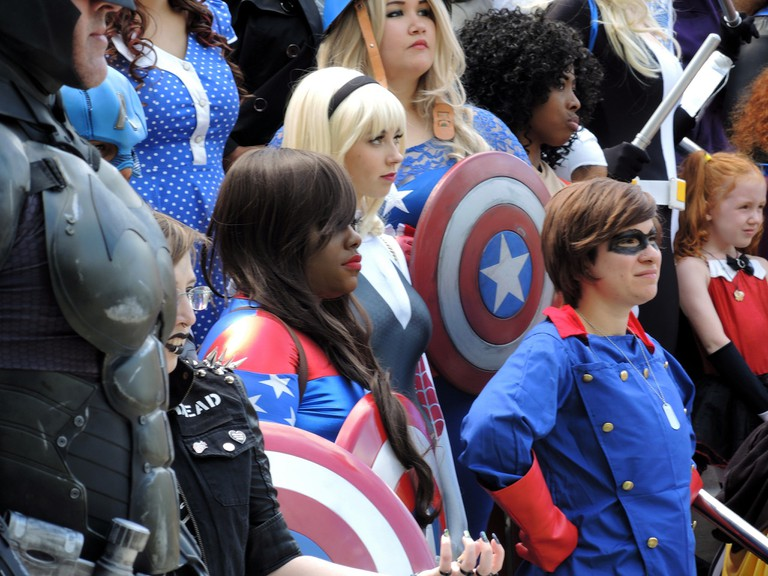 Baltimore Comic-Con, Baltimore, Maryland, Cosplayers
