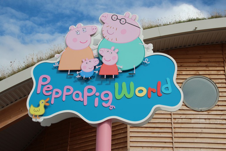 Peppa Pig World in the U.K. was rumored to be replicated in Shanghai and Beijing