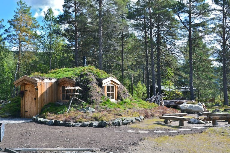 A hobit cabin at Hol