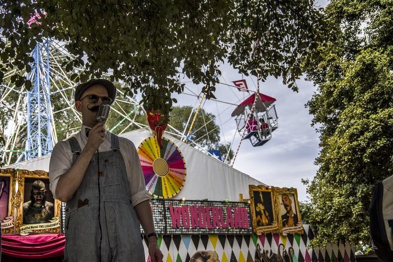 Adelaide Fringe performer © Dan O'Cker / Flickr