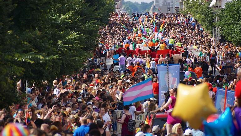 baltimore pride, summer mount vernon, baltimore, maryland