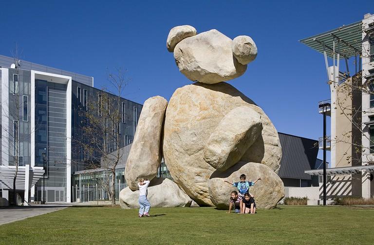 Bear (2005) by Tim Hawkinson, Stuart Collection, UCSD