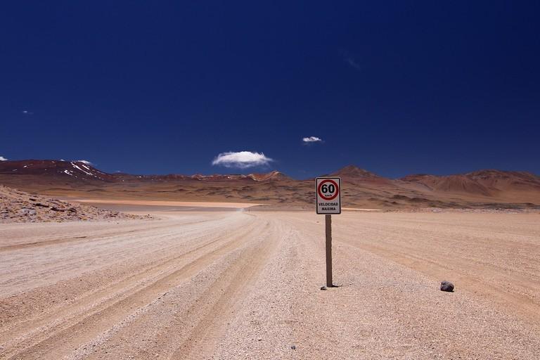 Bolivia desert salt flats