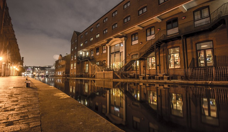 Canals of Birmingham | © Basti V Flickr