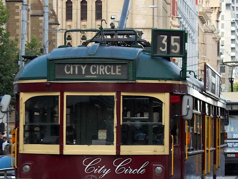 City Circle Tram in Melbourne © Kristina DC Hoeppner / Flickr