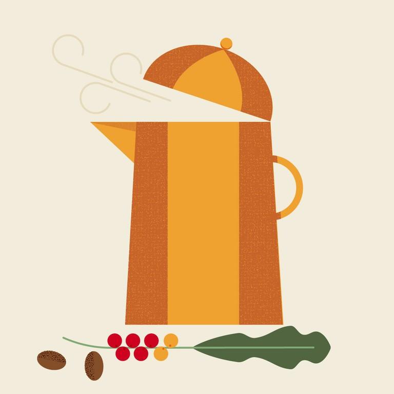 Coffee pot-100
