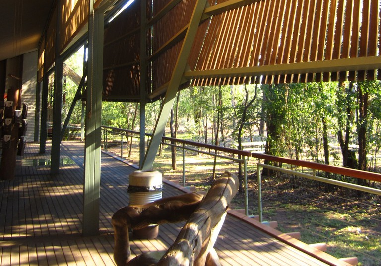 Kakadu Visitor Centre © Glenn Murcutt / Wikimedia Commons