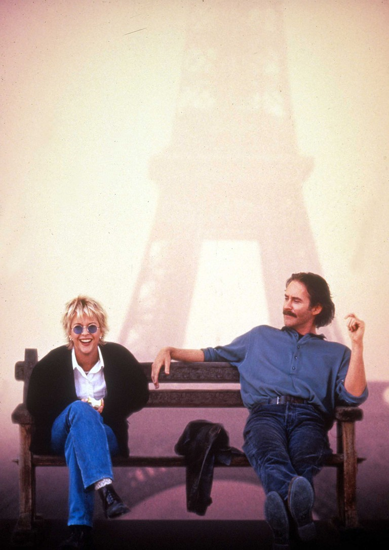 Meg Ryan and Kevin Kline in 'French Kiss'