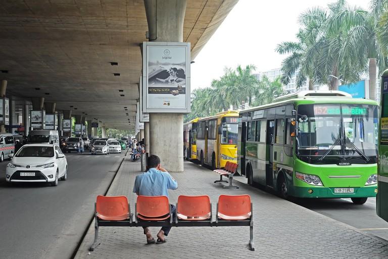 Bus Station at Tan Son Nhat International Airport