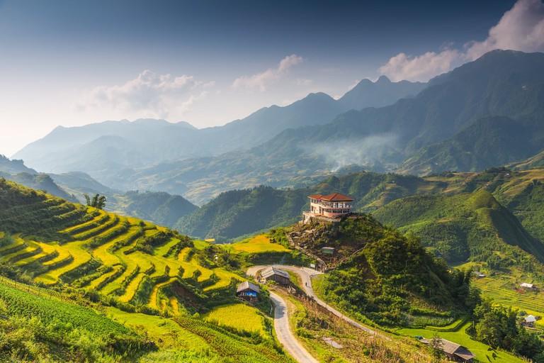 Sa Pa Town, Vietnam