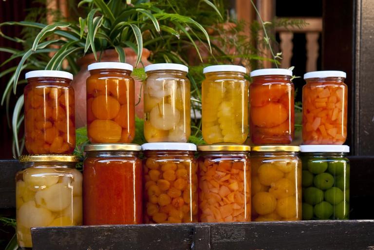 Cypriot jars of treats