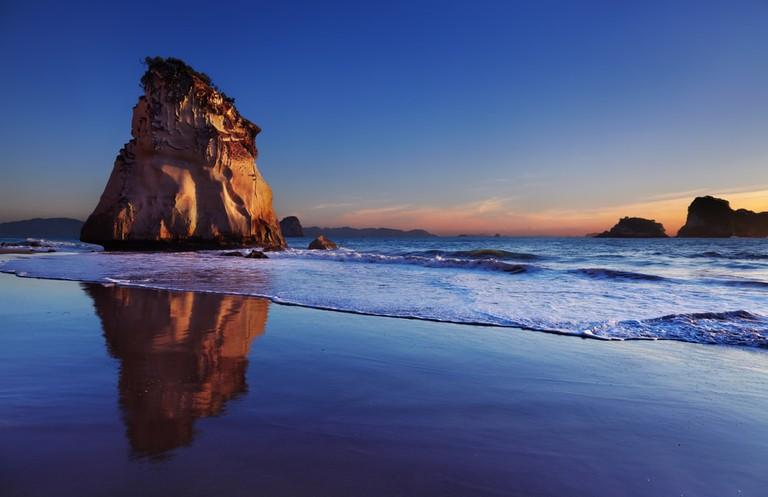 Hoho Rock, Coromandel Peninsula, New Zealand