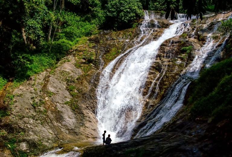 Hutan Lipur Lata Iskandar,Waterfalls at Cameron Highlands, Malaysia