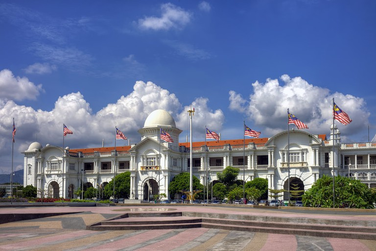 The Ipoh Railway Station, Malaysia