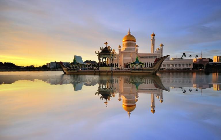 Sultan Omar Ali Saifudding Mosque, Bandar Seri Begawan, Brunei