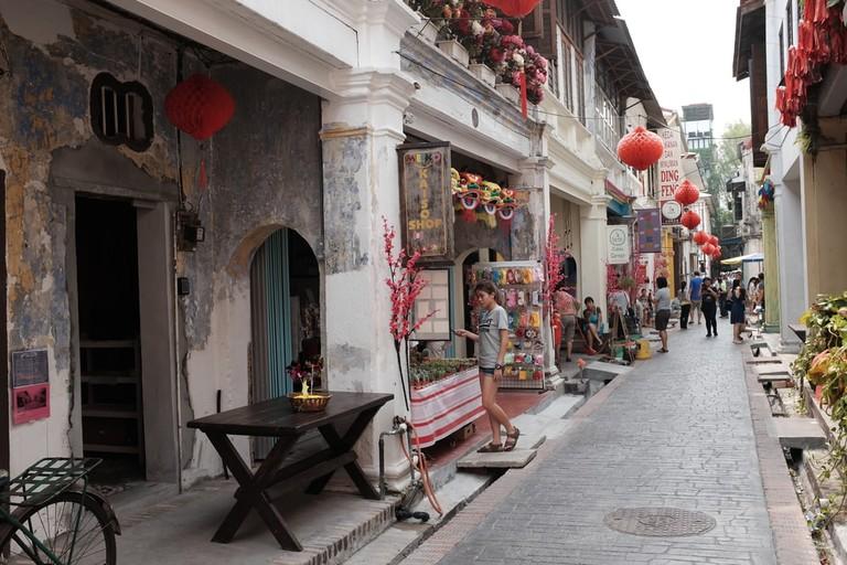 Panglima Lane or Concubine Lane, Ipoh, Perak, Malaysia
