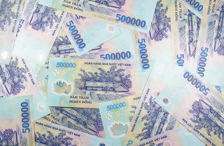 Vietnam dong money