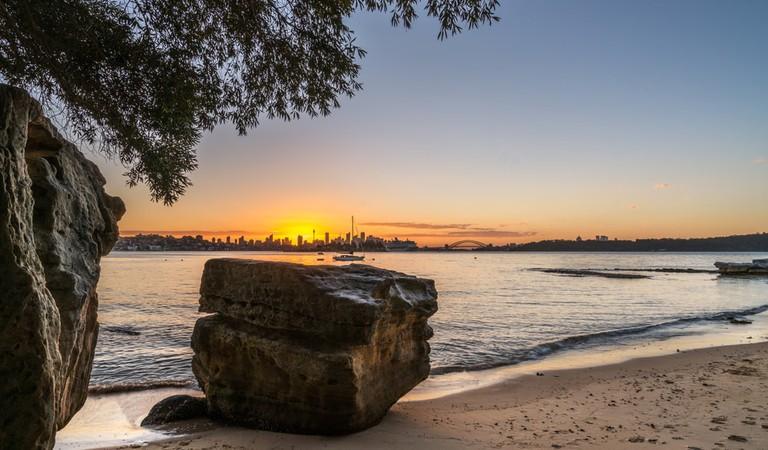 Milk beach, Sydney, Australia