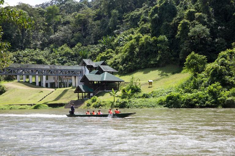 Sungai Temburong in Ulu Ulu National Park Resort at Brunei