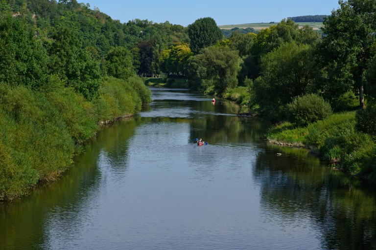 The Sure River, Echternach, Luxembourg