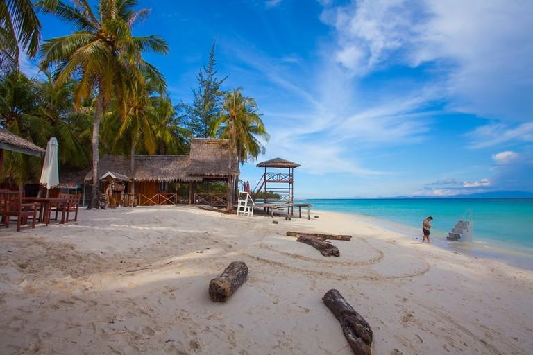 Mantanani Island, Sabah, Malaysia