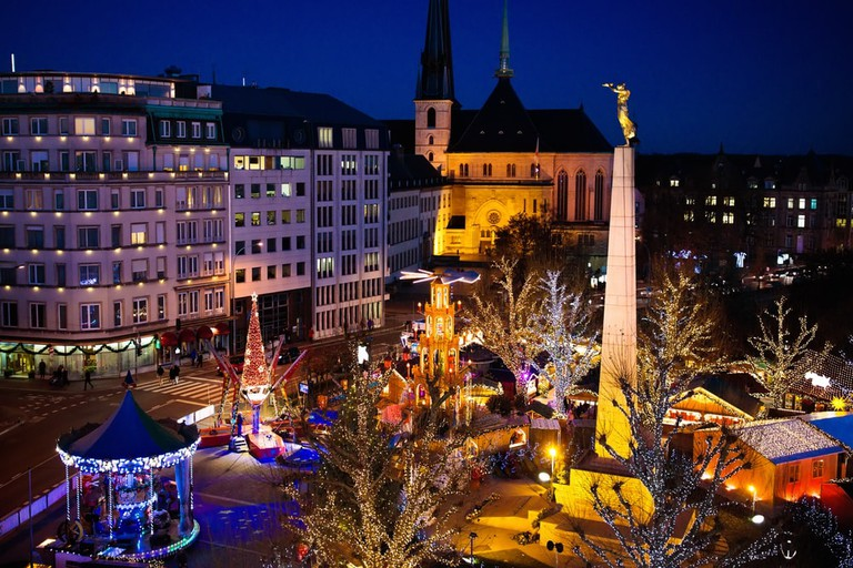 Christmas fair in Luxembourg