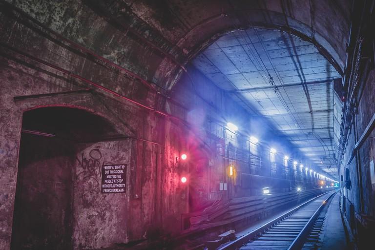 Underground tunnel, Sydney, Australia