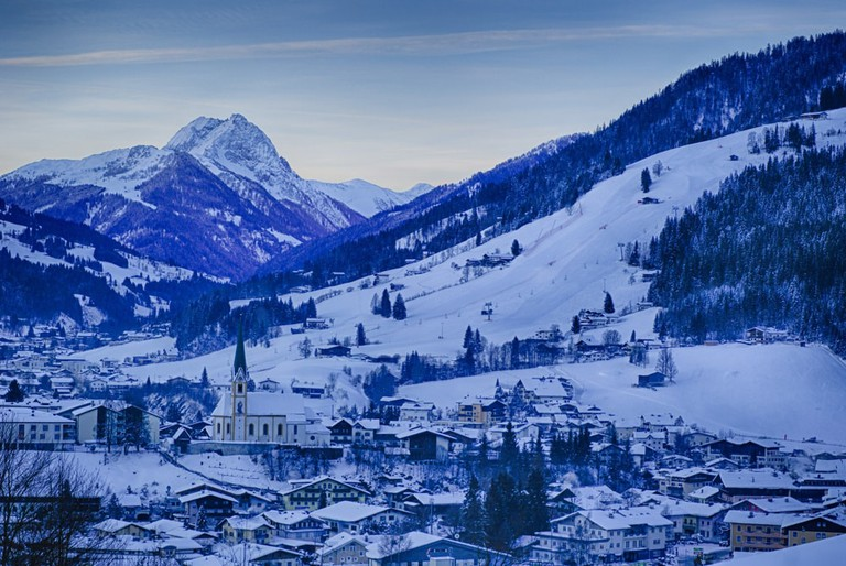 The hills of Kirchberg, Austria