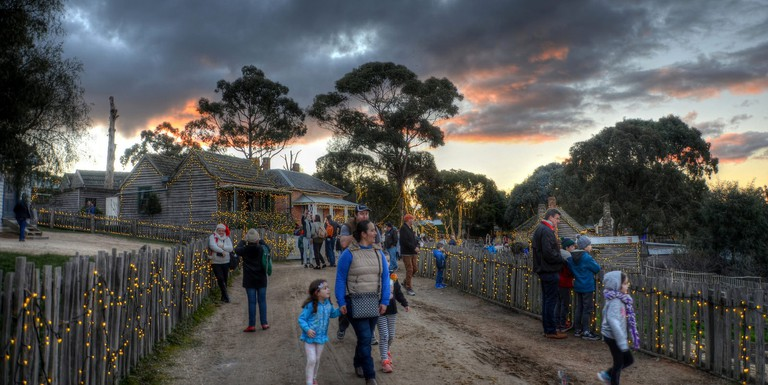 Sovereign Hill open-air museum © Chris Fithall / Flickr