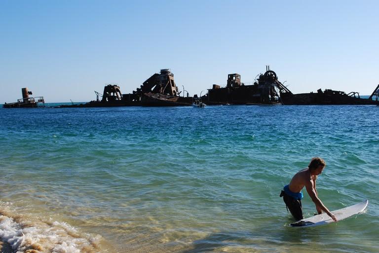 Tangalooma Wrecks on Moreton Island © Andrew Napier / Flickr