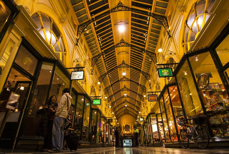 The Royal Arcade in Melbourne © Travellers travel photobook / Flickr