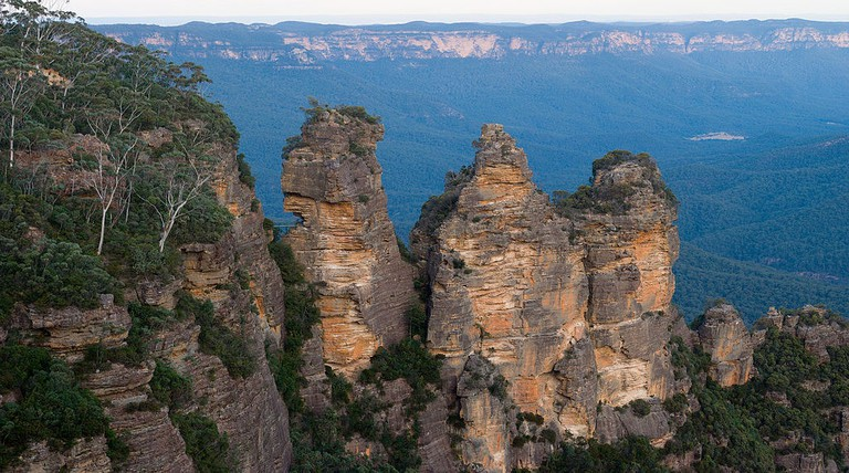 Three Sisters in the Blue Mountains © Diliff / Wikimedia Commons