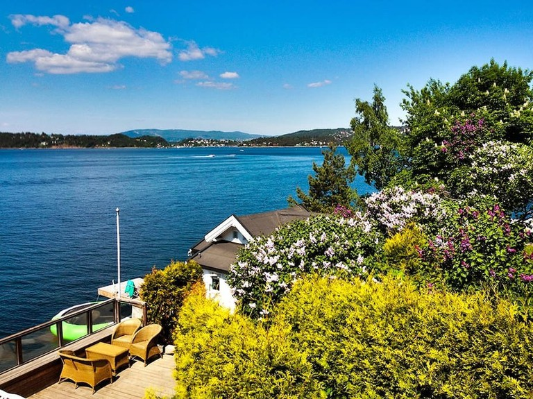 Unique seafront property in Oslo