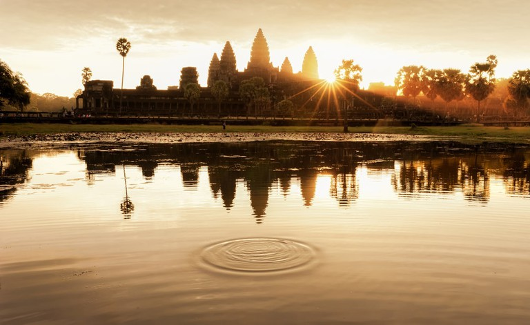 Angkor Wat at morning Sunrise, Siem Reap