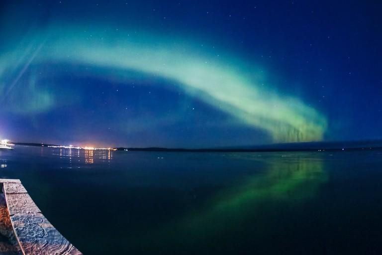 Northern Lights in Petrozavodsk