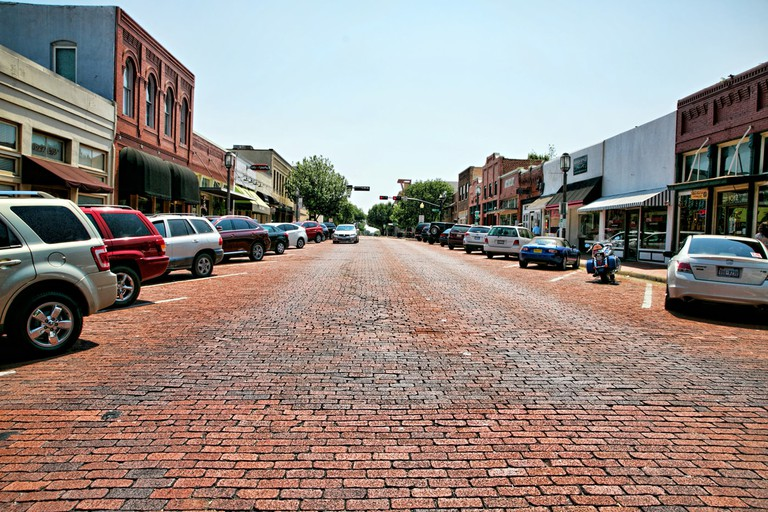 Downtown Plano street view