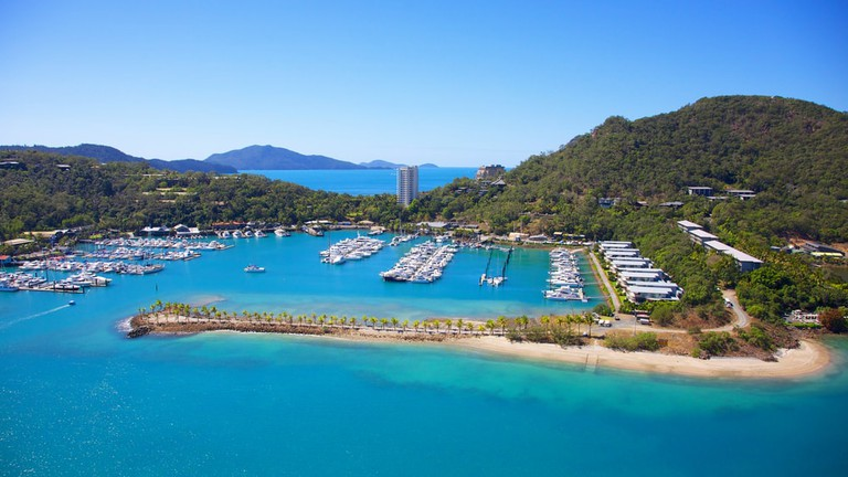Hamilton Island in the Whitsundays Australia