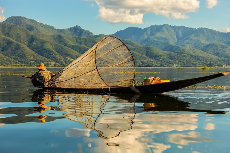 Fishermen at Inle Lake, Myanmar