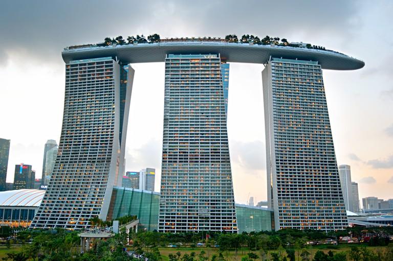 Marina Bay Sands Resort, Singapore.
