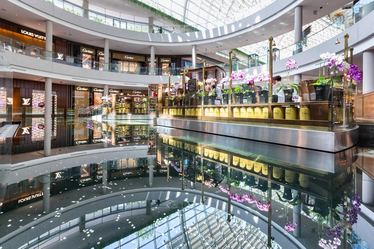 Shoppes at Marina Bay Sands in Singapore