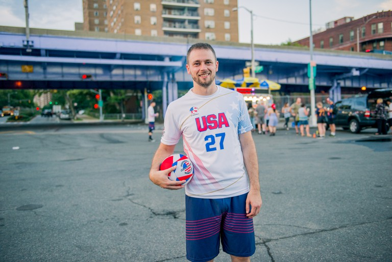 AJ Fox went from playing in a local church league to representing the USA