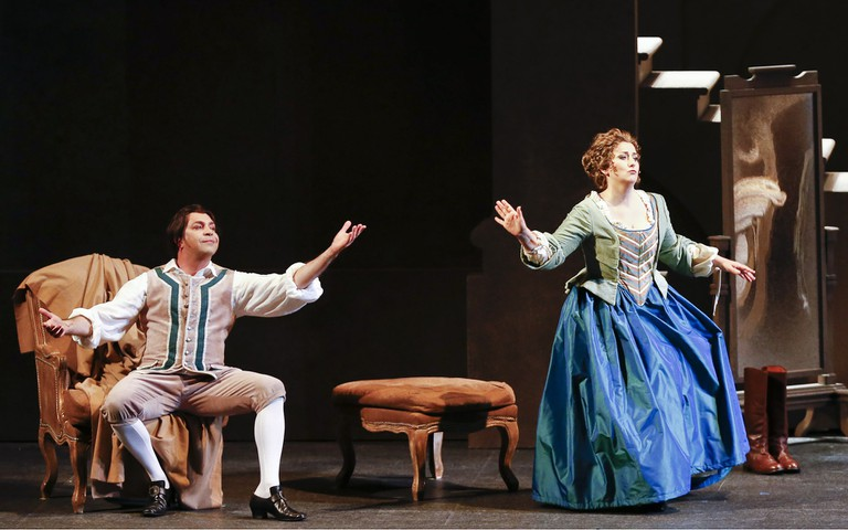 A scene from 'Le nozze di Figaro' by Mozart at Teatro Regio Torino, 2017–2018   © and Courtesy Teatro Regio Torino Photo: Ramella & Giannese